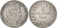 5 Francs 1834 Q Frankreich Louis-Philippe VF(20-25)  67.92 US$ 60,00 EUR  +  11.32 US$ shipping
