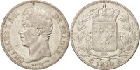 5 Francs 1830 A France Charles X AU(50-53)  181.11 US$ 160,00 EUR  +  11.32 US$ shipping