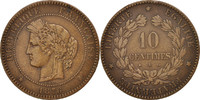 10 Centimes 1876 A France Cérès EF(40-45)  120,00 EUR  +  10,00 EUR shipping