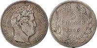 5 Francs 1833 M France Louis-Philippe VF(30-35)  75,00 EUR  +  10,00 EUR shipping