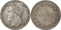 5 Francs, 5 Frank 1847 Belgien Leopold I EF(40-45)  130,00 EUR  zzgl. 10,00 EUR Versand