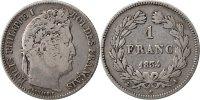 Franc 1834 A Frankreich Louis-Philippe VF(30-35)  150,00 EUR kostenloser Versand