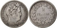Semi Moderns (1805-1899) 2 Francs French Moderns Frankreich Louis Philippe, 2 Francs, 1837 W Lille