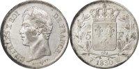5 Francs 1830 W Frankreich Charles X AU(55-58)  280,00 EUR