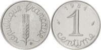Centime 1984 France  MS(65-70)  240,00 EUR free shipping