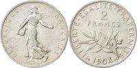 2 Francs 1904 France Semeuse AU(50-53)  130,00 EUR  + 6,00 EUR frais d'envoi