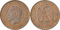 10 Centimes 1852 A Frankreich Napoléon III Napoleon III MS(63)  280,00 EUR kostenloser Versand