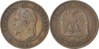 10 Centimes 1861 K Frankreich Napoléon III Napoleon III EF(40-45)  75,00 EUR