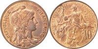 10 Centimes 1913 Frankreich Dupuis MS(60-62)  60,00 EUR  zzgl. 10,00 EUR Versand