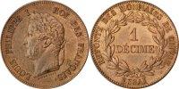 Decime 1840 Frankreich  AU(55-58)  130,00 EUR  zzgl. 10,00 EUR Versand