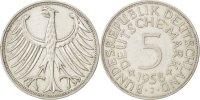 5 Mark 1958 D Bundesrepublik Deutschland  EF(40-45)  490,00 EUR
