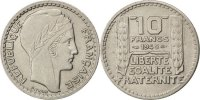 10 Francs 1945 France Turin AU(55-58)  110,00 EUR  + 6,00 EUR frais d'envoi