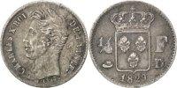 1/4 Franc 1829 D France Charles X EF(40-45)  280,00 EUR envoi gratuit