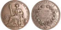 Medal  France  MS(65-70)  160,00 EUR free shipping