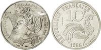 10 Francs 1986 France  MS(65-70)  95.60 US$ 88,00 EUR  +  10.86 US$ shipping