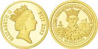 10 Dollars 2003 Fiji Lost Treasure of King Richard Elizabeth II MS(65-70)  100,00 EUR  + 6,00 EUR frais d'envoi