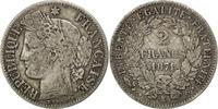 2 Francs 1871 K France Cérès VF(20-25)  12229 руб 180,00 EUR  +  679 руб shipping