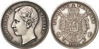 5 Francs 1874  France Napoleon IV AU(55-58)  2574.23 US$ 2300,00 EUR  +  11.19 US$ shipping