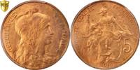 5 Centimes 1916 Paris Frankreich Dupuis MS(64)  70,00 EUR  Excl. 10,00 EUR Verzending