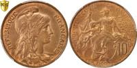 10 Centimes 1900 Paris Frankreich Dupuis MS(64)  10675 руб 150,00 EUR  +  712 руб shipping