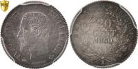 20 Centimes 1860 A Frankreich Napoléon III Napoleon III MS(60-62)  130,00 EUR  +  10,00 EUR shipping