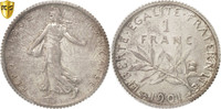 Franc 1901 Paris Frankreich Semeuse MS(60-62)  140,00 EUR  +  10,00 EUR shipping