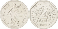 2 Francs 1989 Paris France  MS(65-70)  480,00 EUR free shipping