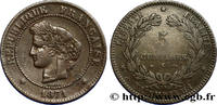 5 centimes Cérès 1871  III REPUBLIC 1871 (25mm, 4,97g, 6h ) S  320,00 EUR  +  10,00 EUR shipping