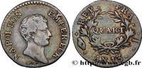 Quart (de franc) Napoléon Empereur, Calendrier rév 1805  NAPOLEON'S EMP... 220,00 EUR  +  10,00 EUR shipping