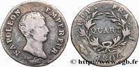 Quart (de franc) Napoléon Empereur, Calendrier gré 1806  NAPOLEON'S EMP... 320,00 EUR  +  10,00 EUR shipping