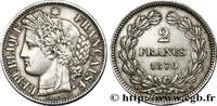2 francs Cérès, sans légende 1870  GOUVERNEMENT DE LA DÉFENSE NATIONALE... 295,00 EUR  +  10,00 EUR shipping