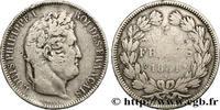 5 francs Ier type Domard, tranche en creux 1831  LOUIS-PHILIPPE I 1831 ... 322.03 US$ 290,00 EUR