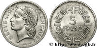 5 francs Lavrillier, aluminium 1946  PROVISORY GOVERNEMENT OF THE FRENC... 140,00 EUR