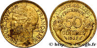 50 centimes Morlon 1947  IV REPUBLIC 1947 (18mm, 2g, 6h ) S  140,00 EUR
