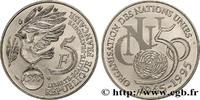 5 francs Cinquantenaire de l'ONU 1995  V REPUBLIC 1995 (29mm, 10g, 6h )... 177.67 US$ 160,00 EUR