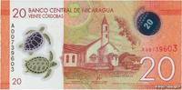 20 Cordobas 2014 NICARAGUA NICARAGUA 20 Cordobas 2014 NEUF ST  2.22 US$ 2,00 EUR