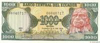 1000 Sucres 1986 ECUADOR ECUADOR 1000 Sucres 1986 NEUF ST  12,00 EUR