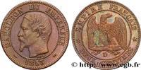 Deux centimes Napoléon III, tête nue, grand D et p 1853  SECOND EMPIRE ... 450,00 EUR  +  10,00 EUR shipping