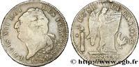 Écu dit 'au génie', légende FRANÇOIS 1792  LOUIS XVI 1792 (39mm, 28,84g... 230,00 EUR  excl. 10,00 EUR verzending