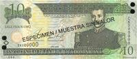 10 Pesos Oro 2002 RÉPUBLIQUE DOMINICAINE RÉPUBLIQUE DOMINICAINE 10 Peso... 15,00 EUR  excl. 10,00 EUR verzending