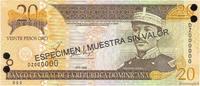 20 Pesos Oro 2002 RÉPUBLIQUE DOMINICAINE RÉPUBLIQUE DOMINICAINE 20 Peso... 15,00 EUR  excl. 10,00 EUR verzending