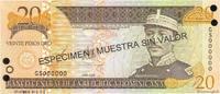 20 Pesos Oro 2003 RÉPUBLIQUE DOMINICAINE RÉPUBLIQUE DOMINICAINE 20 Peso... 15,00 EUR  excl. 10,00 EUR verzending