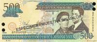 500 Pesos Oro 2003 RÉPUBLIQUE DOMINICAINE RÉPUBLIQUE DOMINICAINE 500 Pe... 20,00 EUR  excl. 10,00 EUR verzending