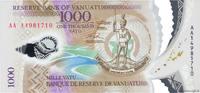 1000 Vatu 2014 VANUATU VANUATU 1000 Vatu 2014 NEUF ST  20,00 EUR  + 10,00 EUR frais d'envoi
