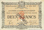 2 Francs 1915 FRANCE regionalism and various FRANCE regionalism and var... 75,00 EUR  zzgl. 10,00 EUR Versand