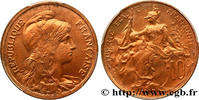 10 centimes Daniel-Dupuis 1917  III REPUBLIC 1917 (30mm, 10g, 6h ) ST  109.95 US$ 100,00 EUR  +  10.99 US$ shipping
