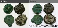 Lot de 4 potins Ier siècle avant J.-C.  Gallo-Belgian / Celtic Ier sièc... 220.24 US$ 200,00 EUR  +  11.01 US$ shipping