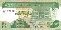 10 Rupees 1985 MAURITIUS MAURITIUS 10 Rupees 1985 SPL fST  6.72 US$ 6,00 EUR  +  11.19 US$ shipping