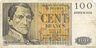 100 Francs 1953 BELGIUM BELGIUM 100 Francs 1953 TB S  6,00 EUR  zzgl. 10,00 EUR Versand
