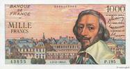 1000 Francs RICHELIEU 1955 FRANCE FRANCE 1000 Francs RICHELIEU 1955 SUP... 224.67 US$ 200,00 EUR  +  11.23 US$ shipping